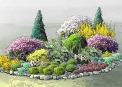 projekt ogrodu