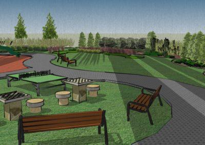 Wizualizacja Mini Parku