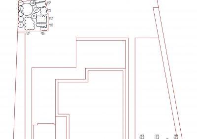 Projekt ogrodu przydomowego - geometryczny - Grudziądz
